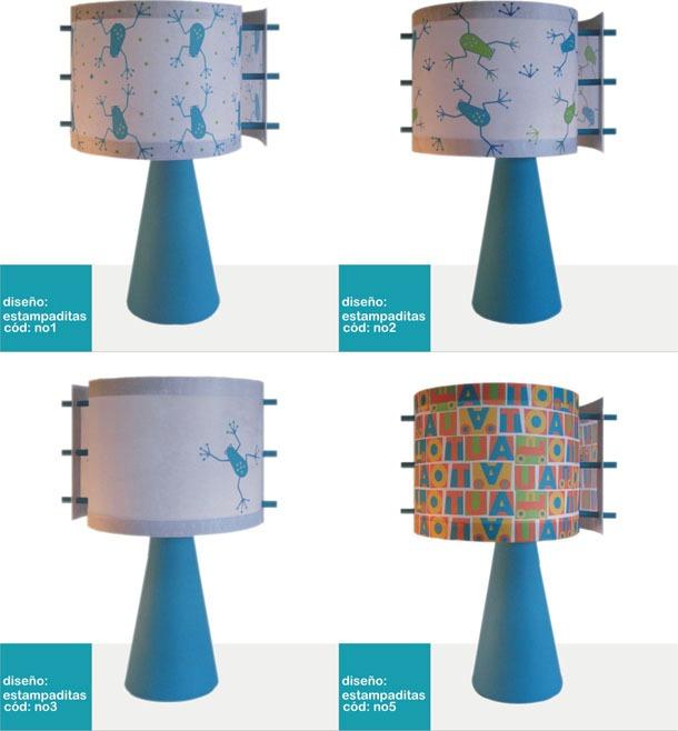 L mparas infantiles para mesa de luz dise os originales - Lamparas de mesa originales ...