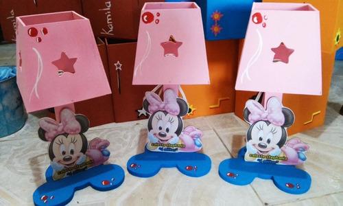 lamparas infantiles personalizadas centros mesa infantiles