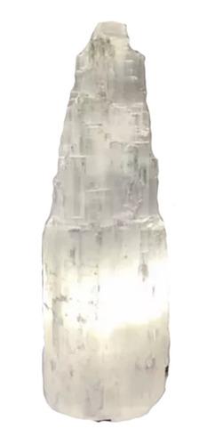 lamparas - lampara - selenita - cuarzo