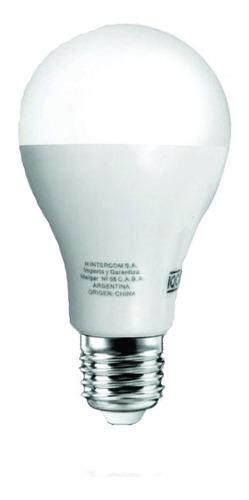 lamparas led 15w h intercom pack x10 luz fria e27