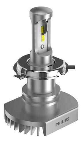 lamparas led h4 philips ultinon 12v 6200k 160% + luz