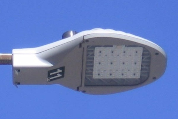L mparas leds alumbrado p blico uso rudo 30 watts for Lamparas led para exteriores