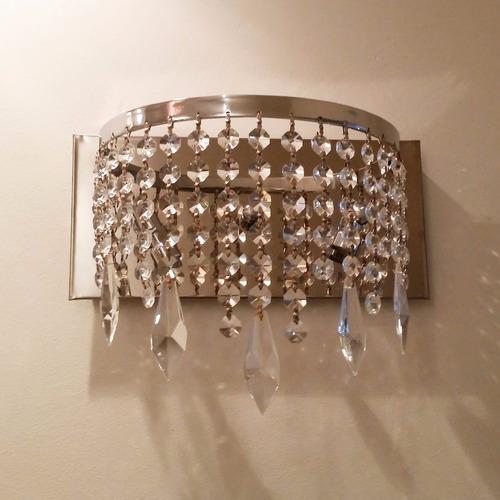lamparas modernas de cristal para pared nuevas