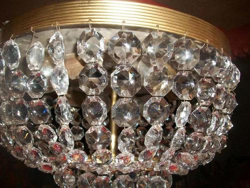 lamparas o candil cristal cortado