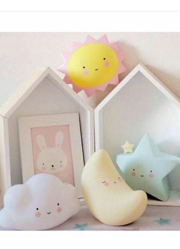 lamparas para decoración de cuartos de bebés y niños.