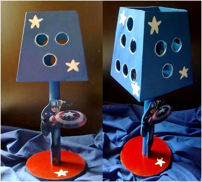 Lamparas para pintar manualidades minnie mouse centros - Lamparas de madera para pintar ...