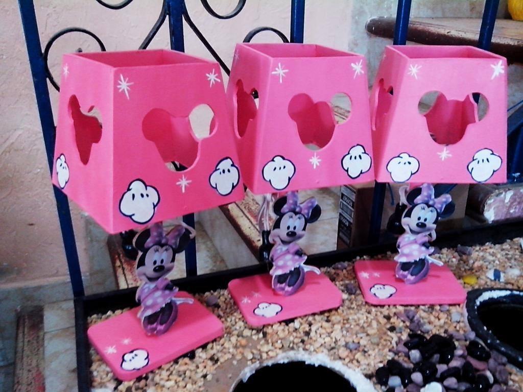 Lamparas personalizadas infantiles fiestas princesas - Mesas infantiles madera ...