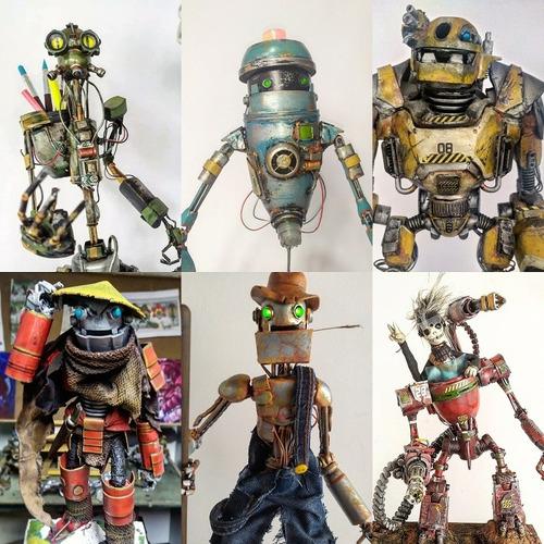 lámparas robot personalizadas