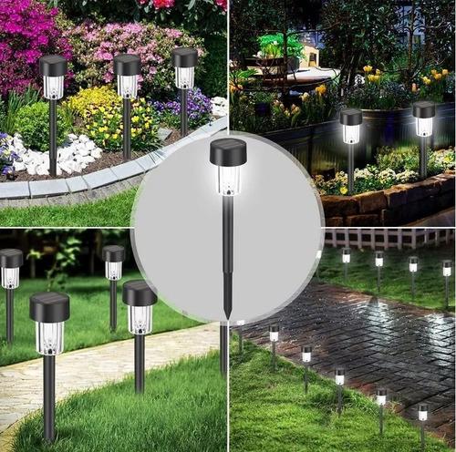 lamparas solar jardin