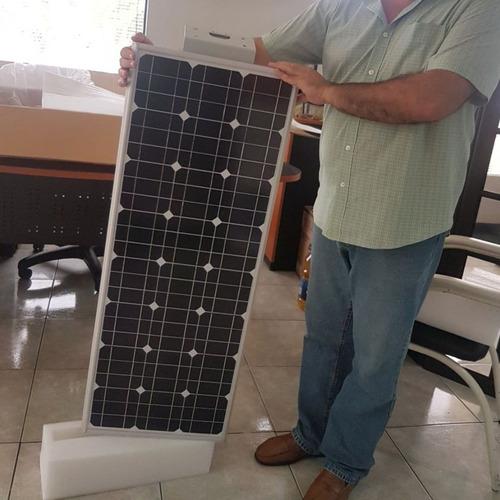 lámparas solares led 12w de poste todo en uno panel solar