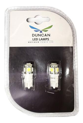 lamparas t10 circuito impreso flash blanco blister x2