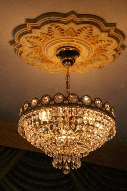 Rosetones o apliques plafon para lamparas de techo rosetas bs en mercado libre - Lamparas pegadas al techo ...