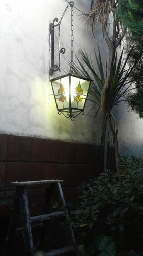 lamparas tiffany y faroles en vitraux