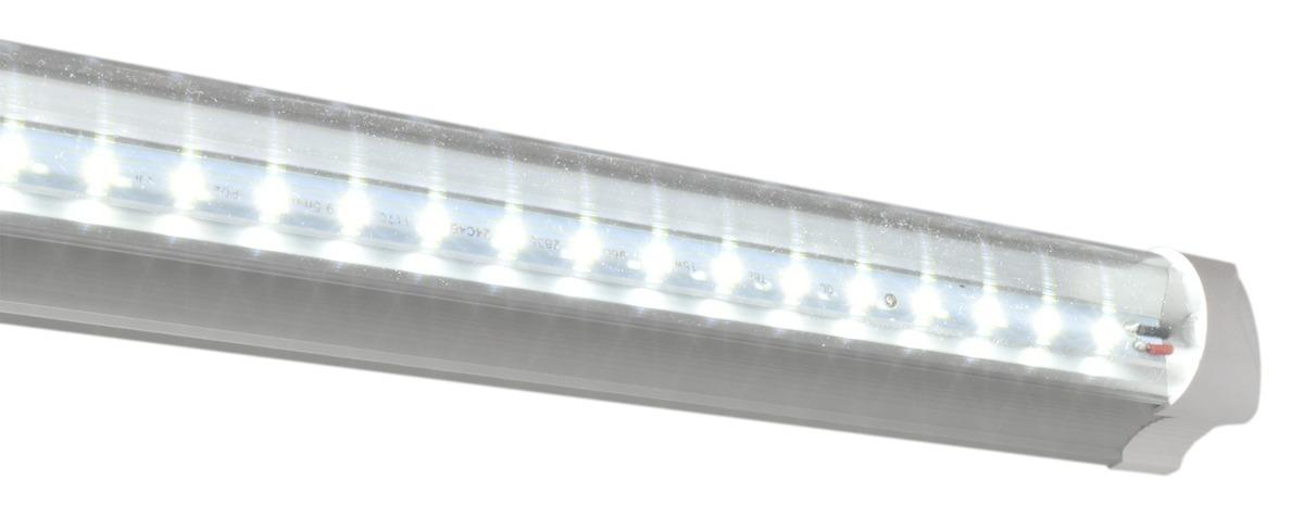 Lamparas tubo led techo 18w t8 aluminio con accesorios e for Lamparas led de techo