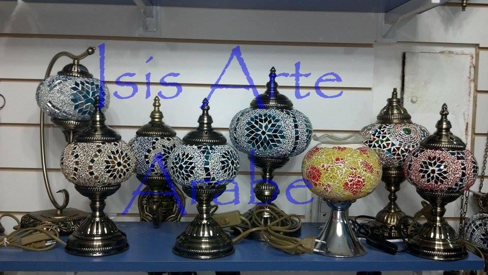 lamparas turcas de mesa escritorio originales de turquia