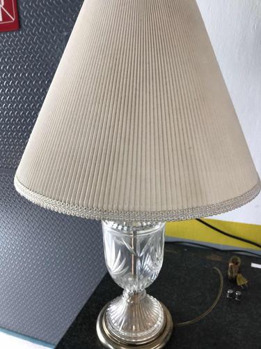 lamparas vintage antigua de cristal