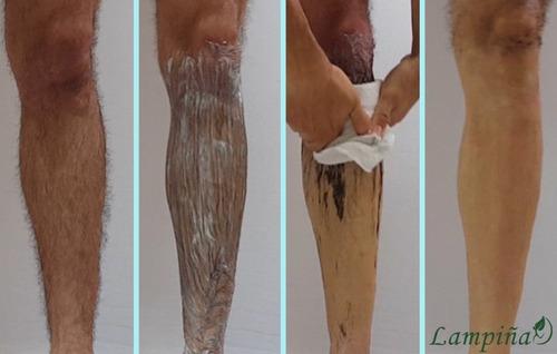 lampiña crema depilatoria 6 sobres