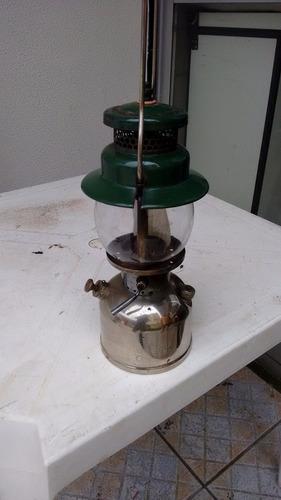 lampião coleman americano a gasolina raridade