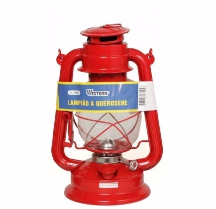 lampião de querosene para falta de energia, sítio ou fazenda