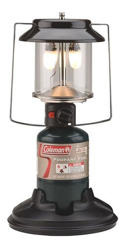 lampião propano acendimento automático duas camisas  coleman