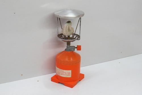 lampião yanes antigo à gás sem o vidro