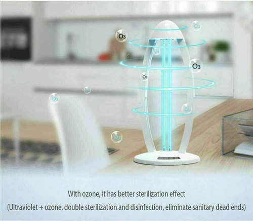 lampra uv germicida ultravioleta ozon control tempotizador