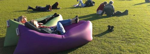 lamzac hangout inflable portátil