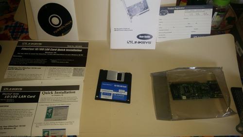 lan card 10/100 model lne100tx