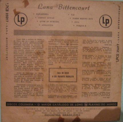 lana bittencourt - lana bittencourt - 10 polegadas