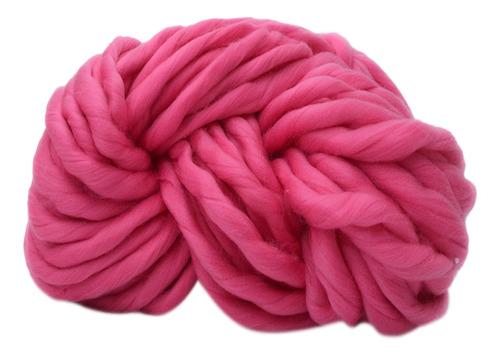 lana de fieltro de tejer a mano material de arte de