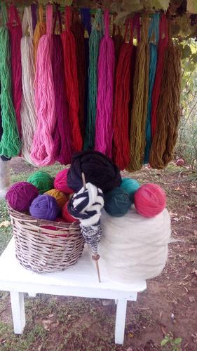 lana de oveja hilada