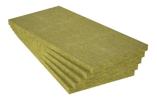 lana de roca mineral aislante acústico 1000x500x25 mm x 80kg