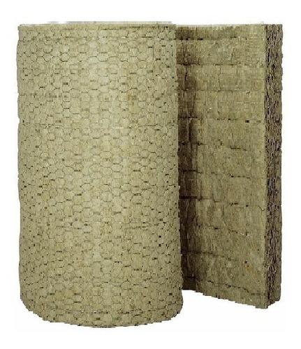 lana de roca mineral rollo de 5m2 25mmx40kg (calidad)musycom