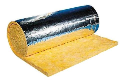 lana de vidrio 50mm con aluminio precio promocional.