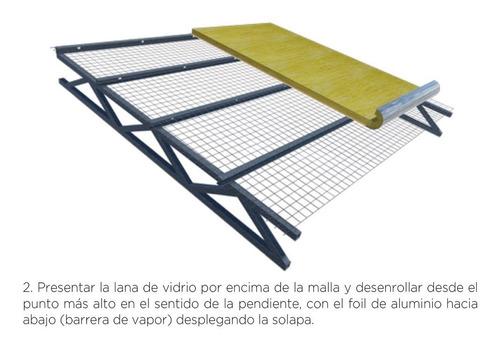 lana de vidrio  aluminio tensado 100 isover cuotas