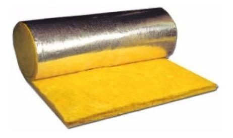 lana de vidrio c/ aluminio natural 50  liviano 1.2x18 oferta