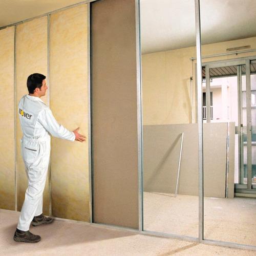 lana de vidrio isover tech libre 45 mm 1,25 x 16 mts cuotas!