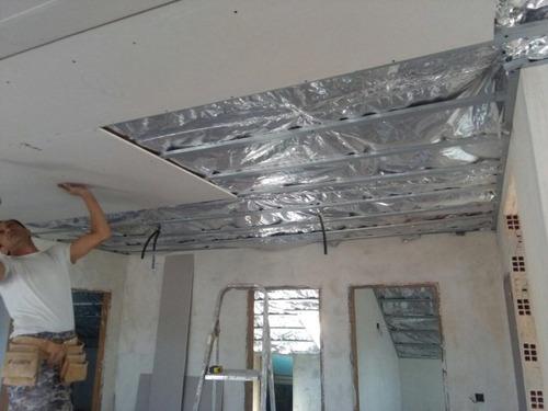 lana de vidrio isover tech plata 35 mm 1,25 x 16 mts oferta!