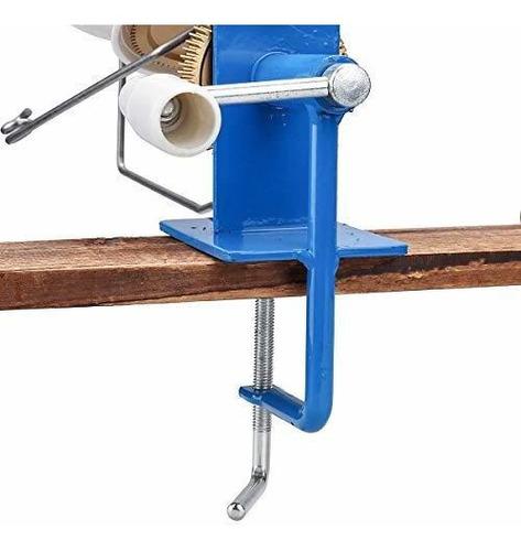 lana grande jumbo metal fibra cuerda winder operado