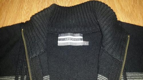 lana hombre campera