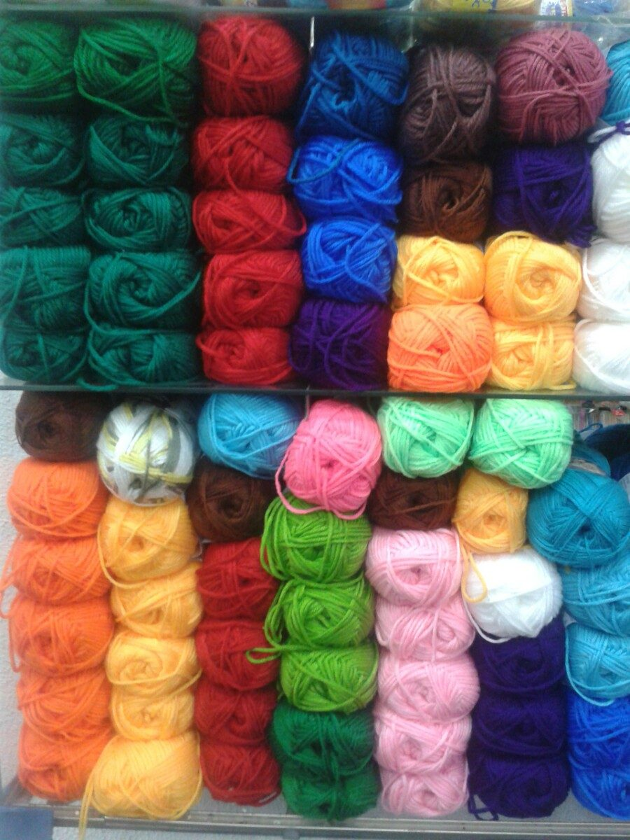 Lana needles angora para tejer 100grs estambre bs 8 - Lana gruesa para tejer ...