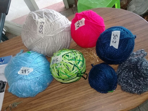 lana por gramo