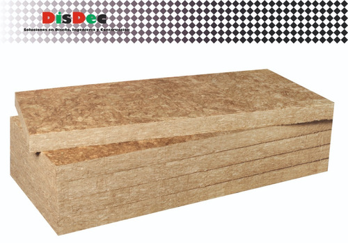 lana roca mineral aislante  500 x 1000 x 25 mm 40 kg/m3