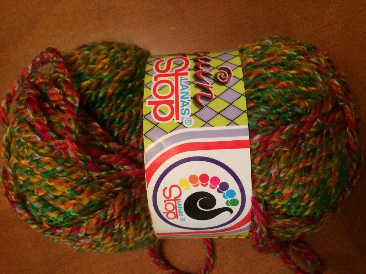 Lanas Para Tejer A Palillo O Crochet Importadas