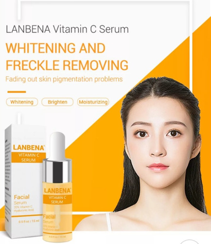 lanbena:vitamina c a.hialurónico.manchas,peca,secuelas acné