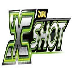 lança dardos com 3 alvos micro latas x shot excell candide