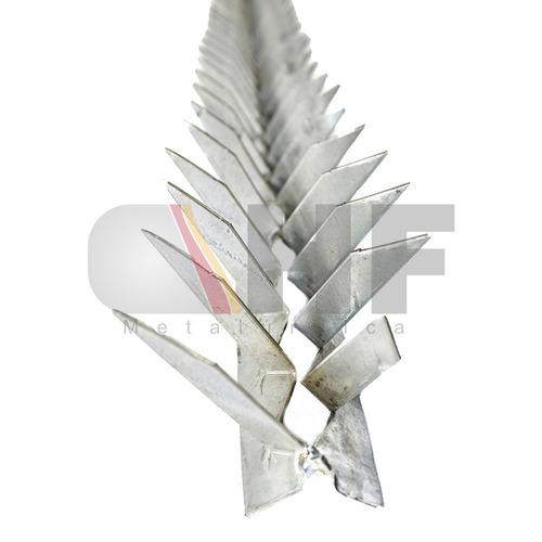 lança para muro - concertina/ouriço/mandibula ( 08 cm )