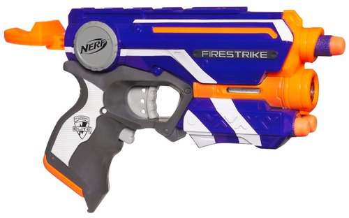 lançador de dardos nerf firestrike mira a laser a0709 hasbro