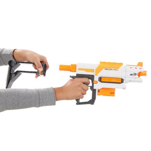 lançador de dardos - nerf modulus recon mkii blaster - hasbr