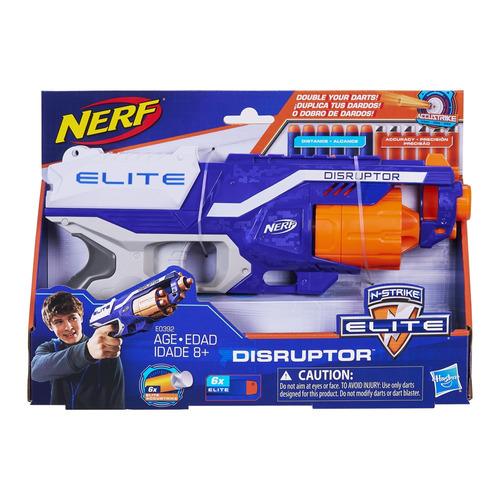 lançador nerf - elite - disruptor - hasbro